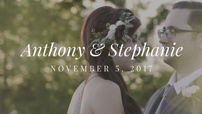 Anthony and Stephanie